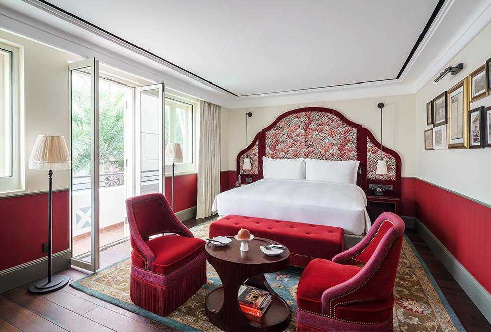 深红色 the terrace 房- 全新开张新加坡酒店