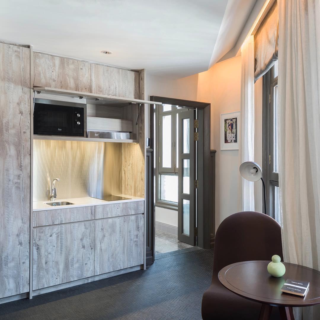 小型厨房-全新开张新加坡酒店