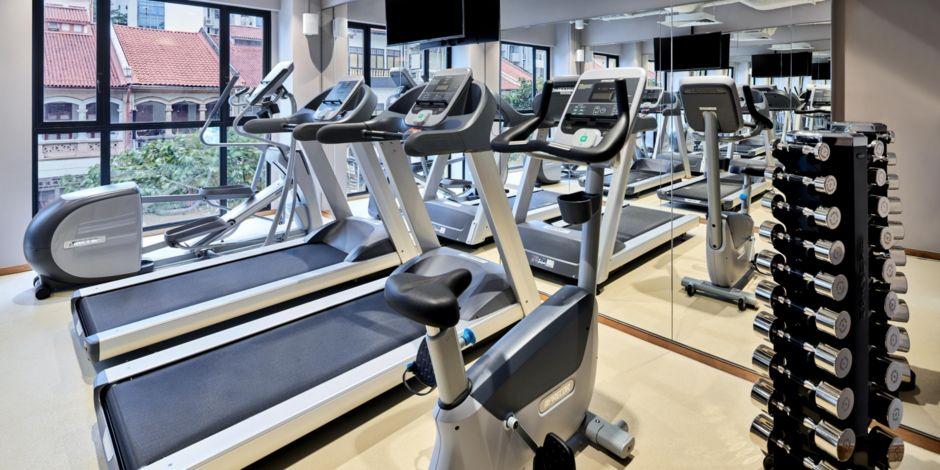 健身房-全新开张新加坡酒店