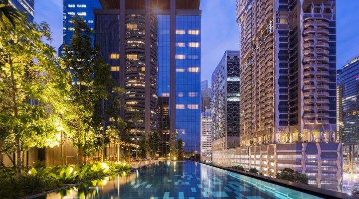 无边泳池-全新开张新加坡酒店
