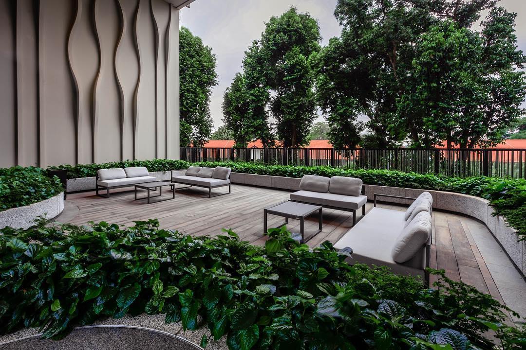 户外设施-全新开张新加坡酒店