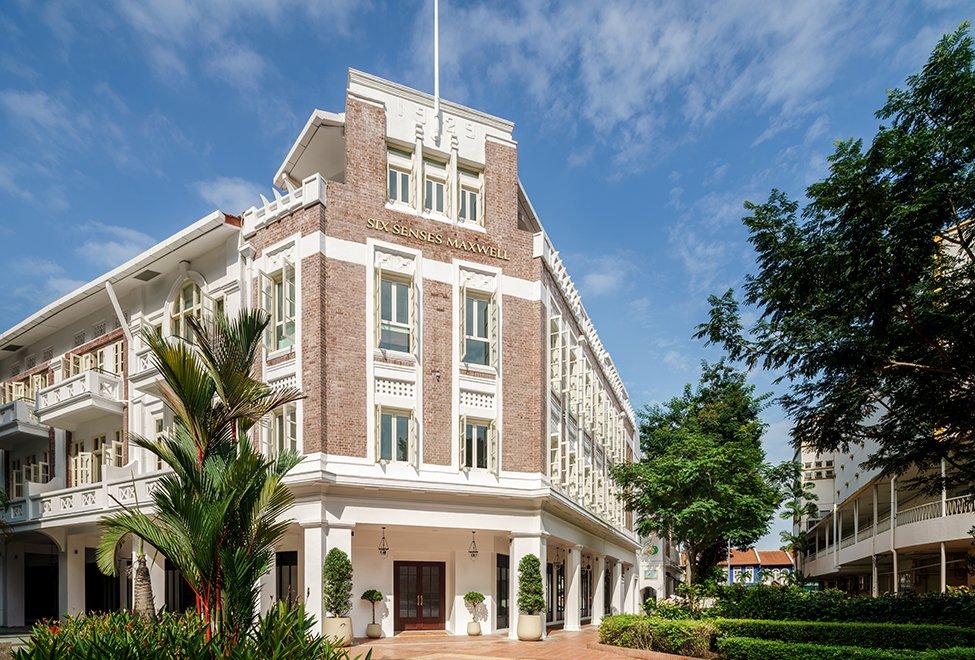 six senses Maxwell 外观-全新开张新加坡酒店