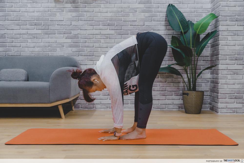 脚尖触碰-30天 健身挑战