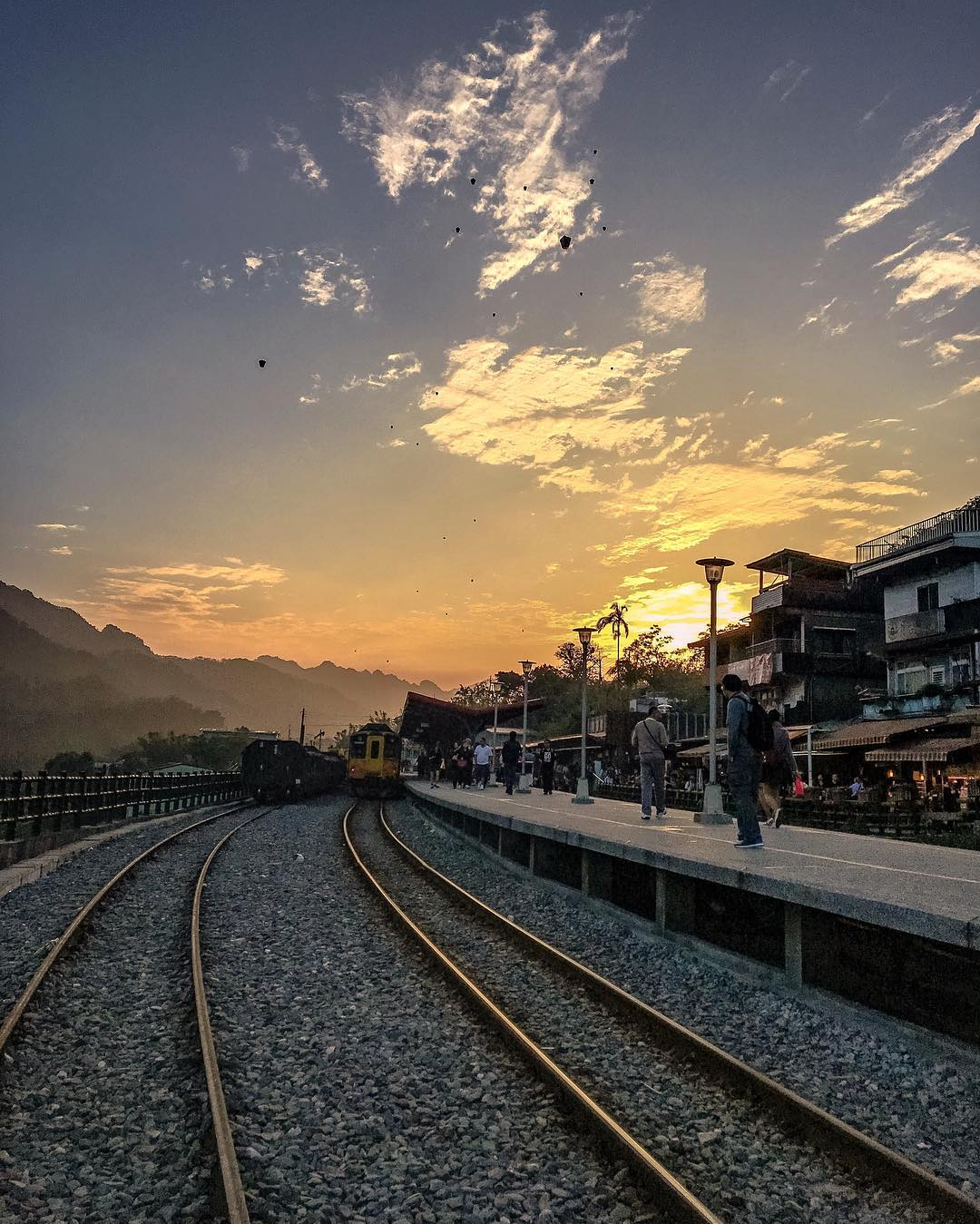 十分火车站-台湾精彩行程