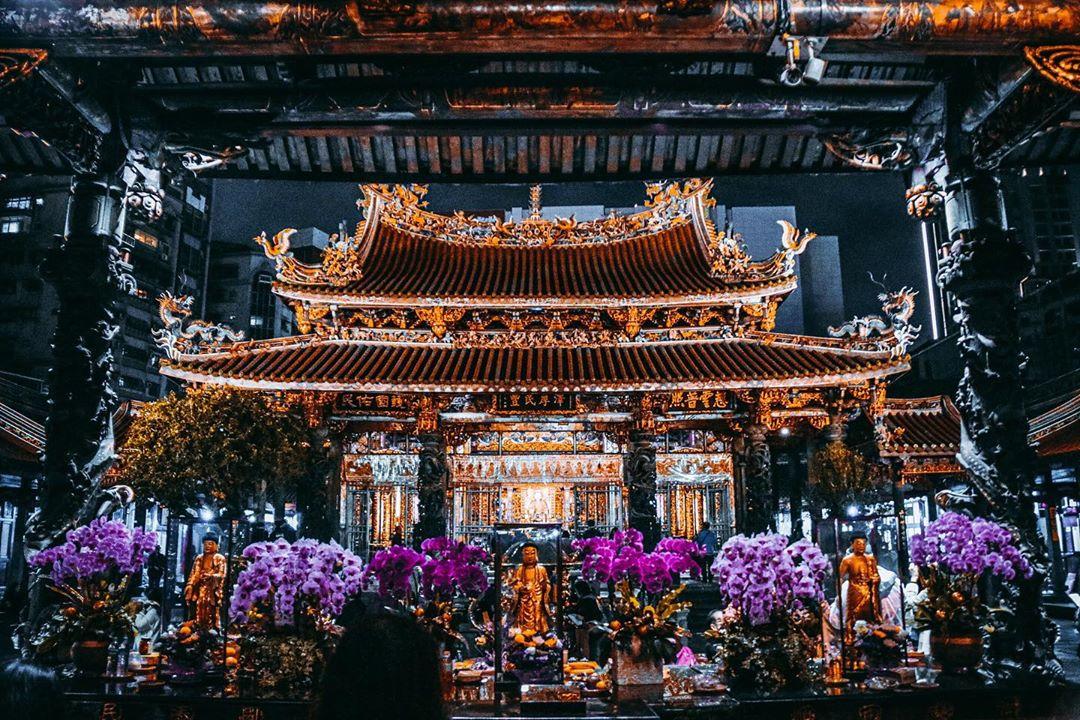 龙山寺-台湾精彩行程
