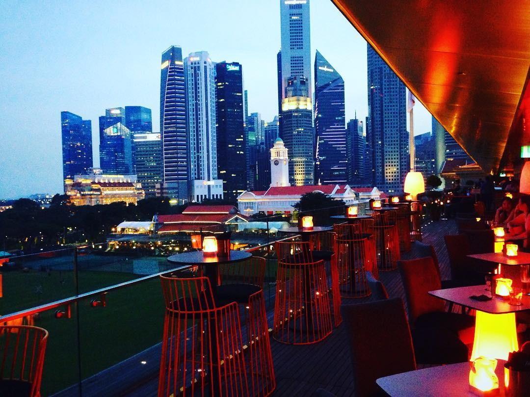 Aura 餐厅美景-最佳新加坡餐厅