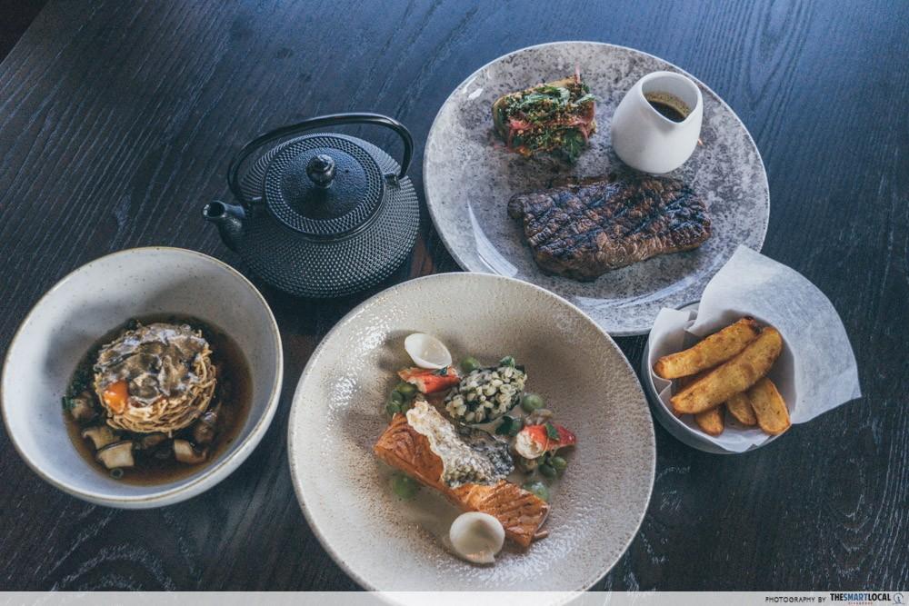 SKAI 料理-最佳新加坡餐厅