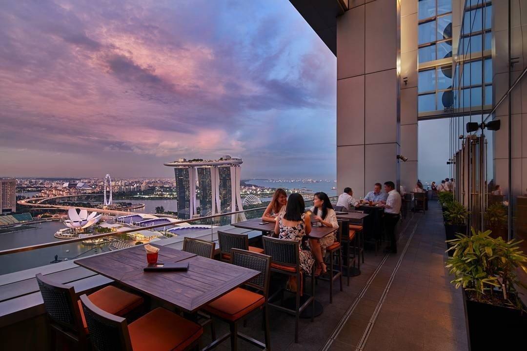 俯视金沙-最佳新加坡餐厅