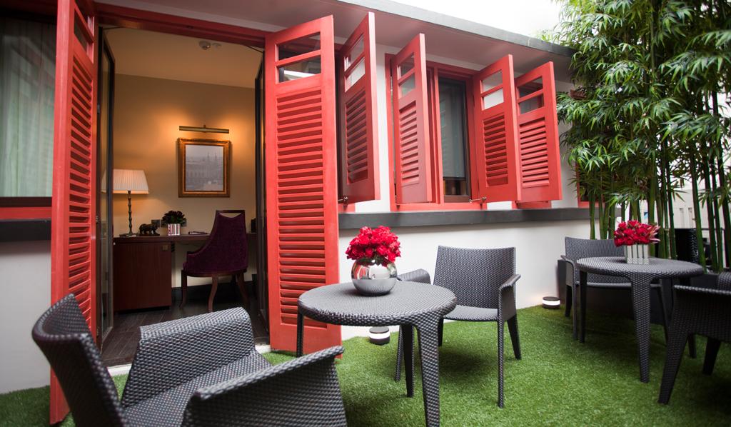 庭院-新加坡精品酒店