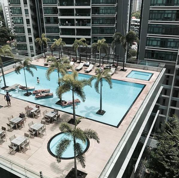 共用泳池-新加坡精品酒店