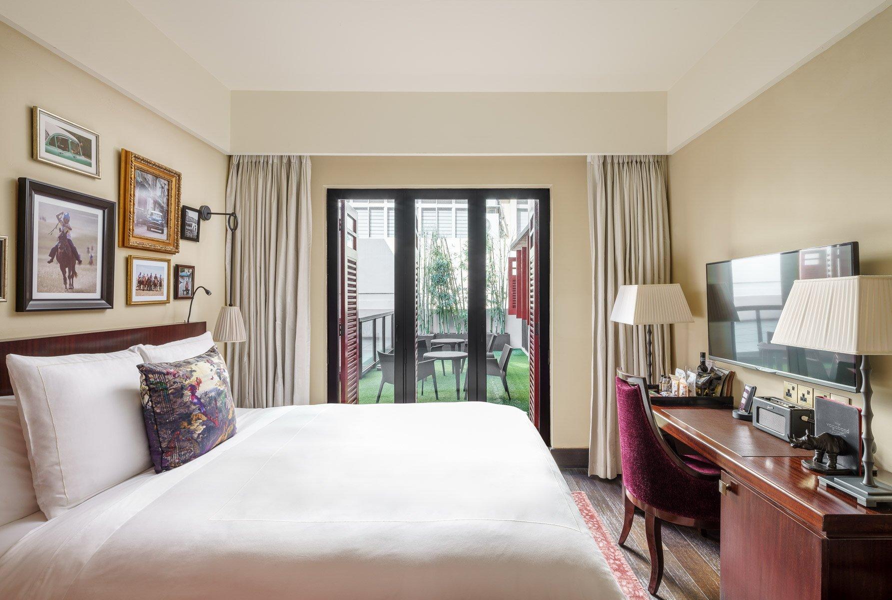 庭院俱乐部套房-新加坡精品酒店