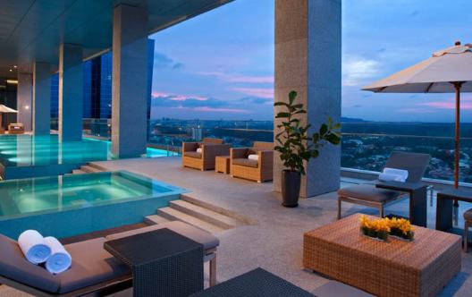 豪华私人泳池-新加坡精品酒店