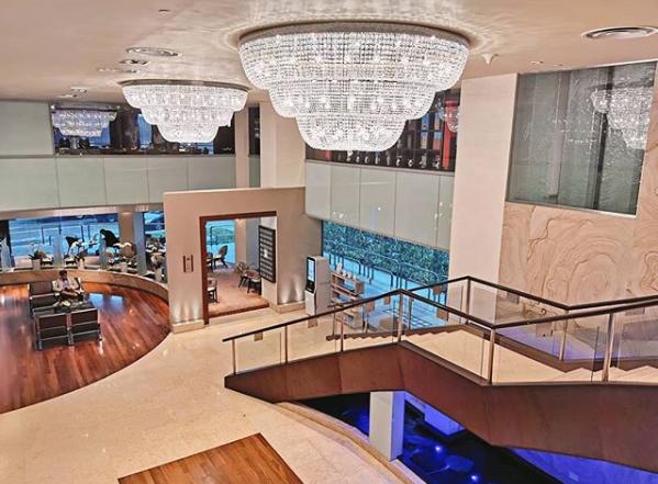 M酒店豪华大堂-新加坡精品酒店