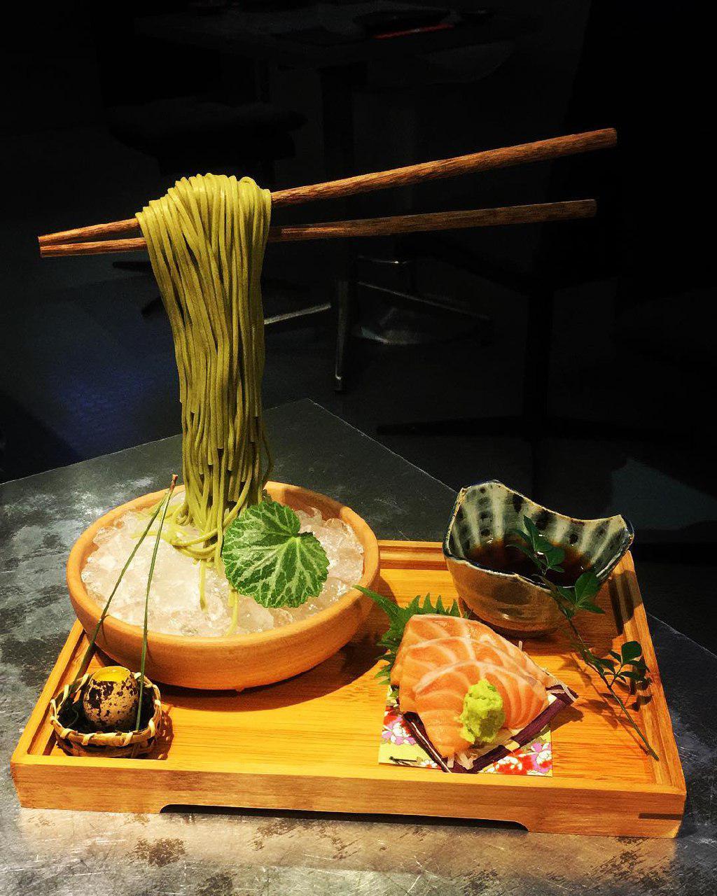 漂浮面条-新加坡餐厅