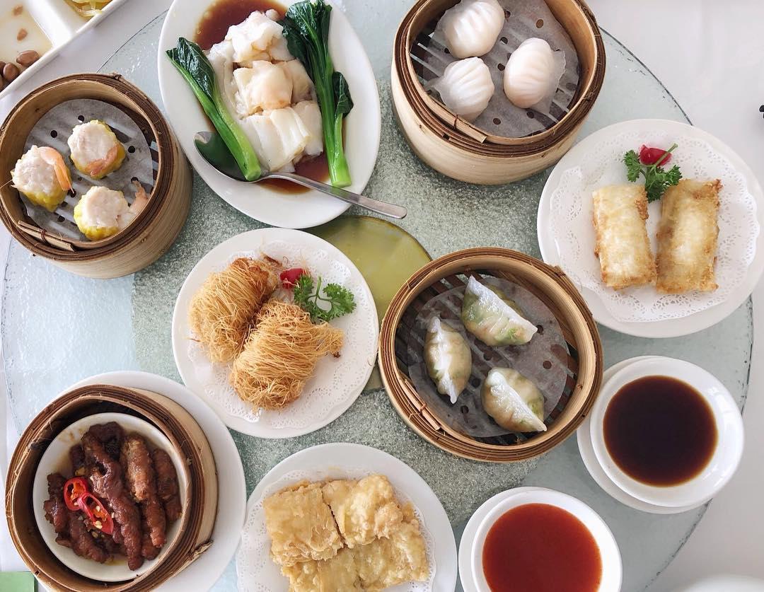 旋转餐厅点心-新加坡餐厅