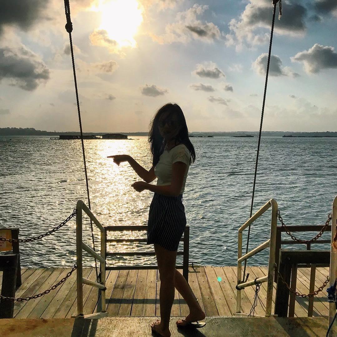 水上餐厅美丽海景