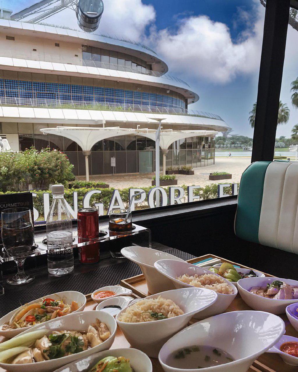 观赏城市美景-新加坡餐厅
