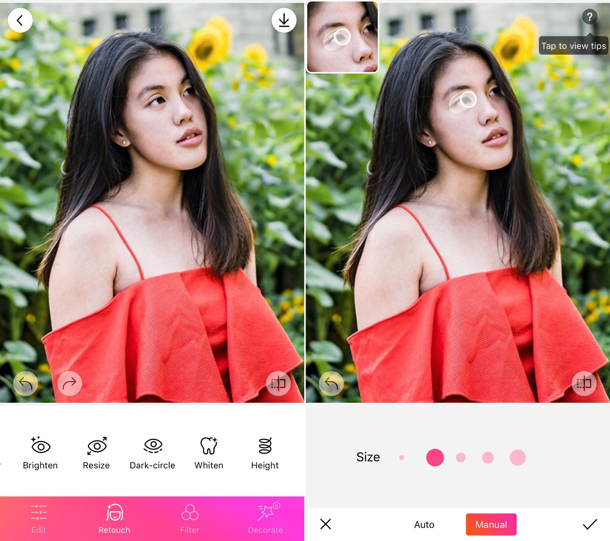 Beautyplus 修图软件 - 肖像照片