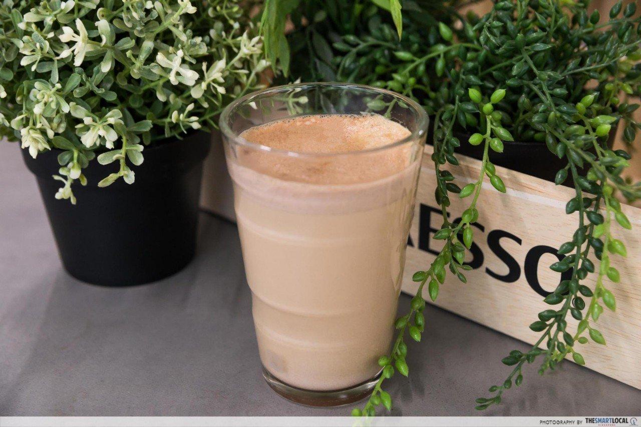 榛子摩卡奇诺 - DIY咖啡做法