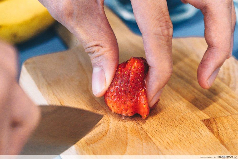 切好的水果