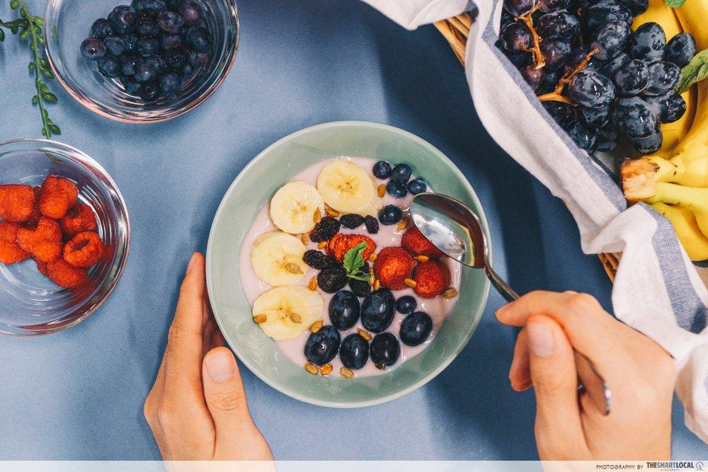 综合莓果碗 - 优格甜点做法