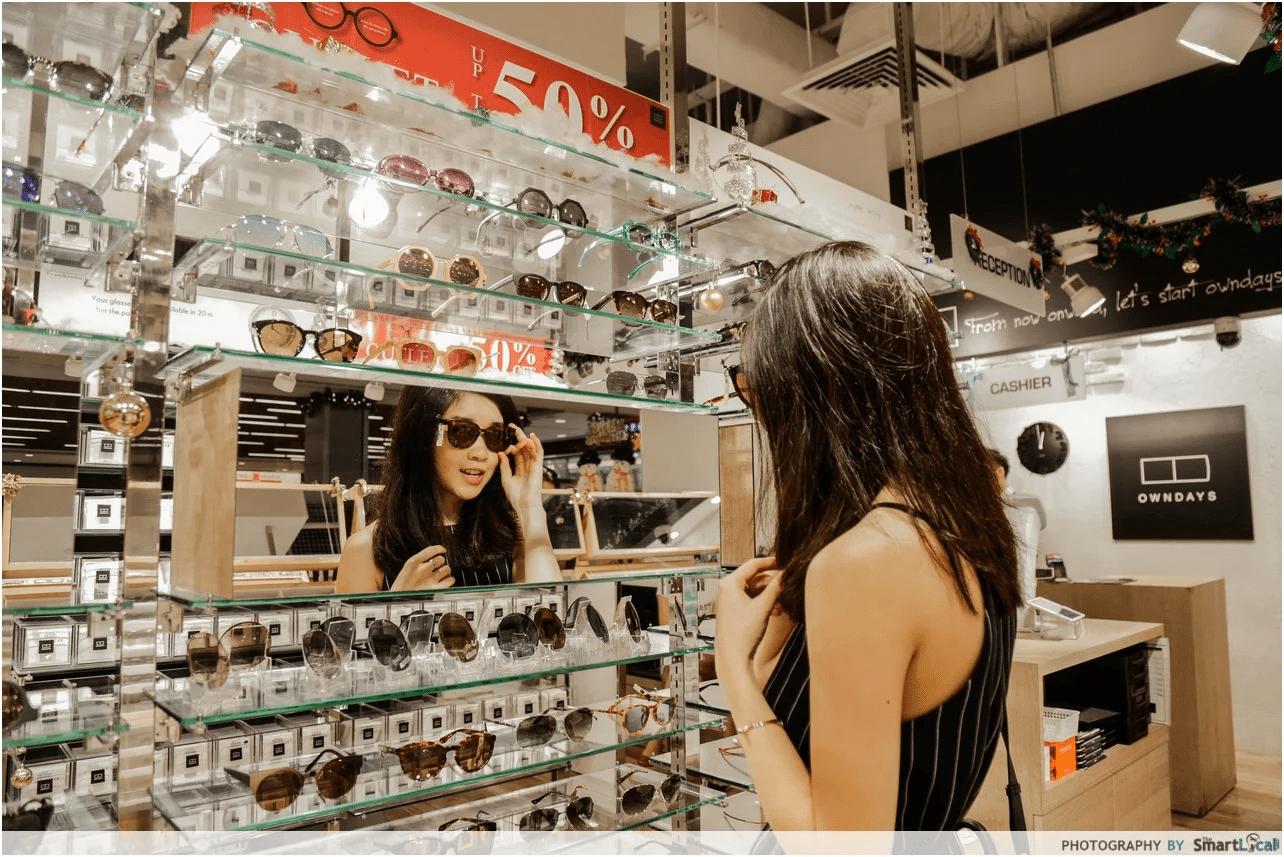 owndays 眼镜店