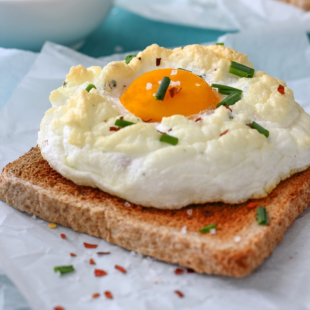 吐司上的鸡蛋 - 鸡蛋做法