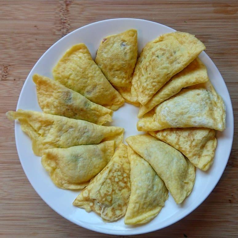 鸡蛋饺子 - 鸡蛋做法