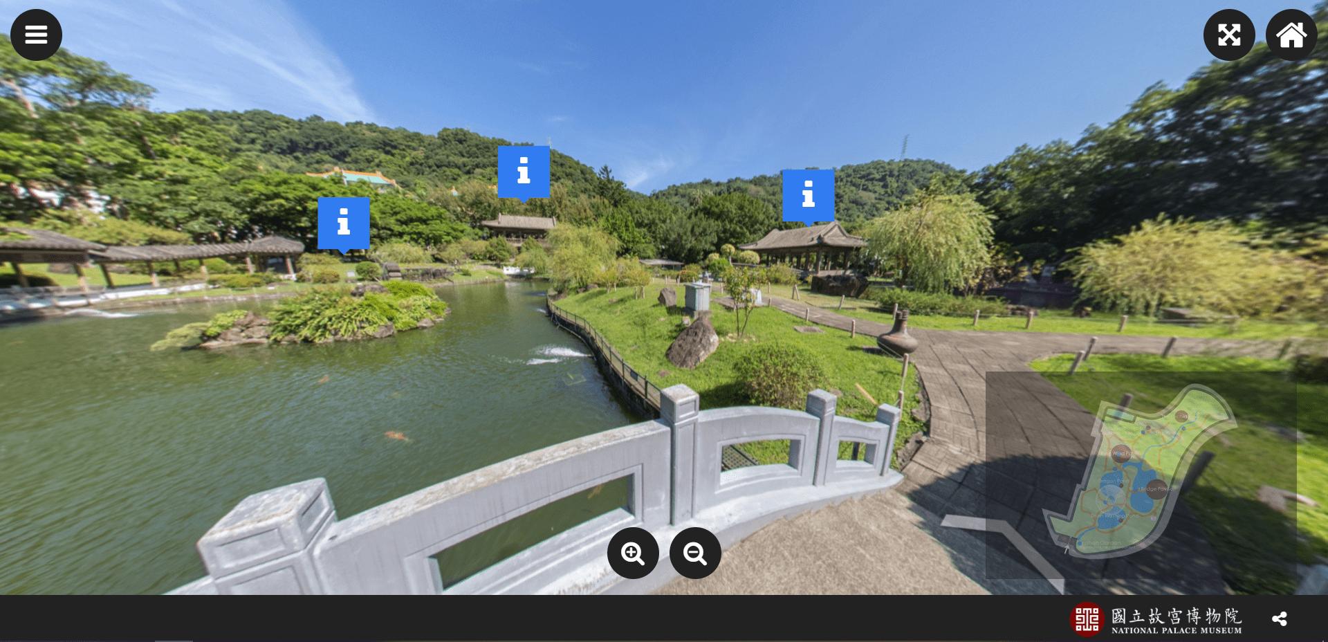 台北故宫博物院- 虚拟旅游