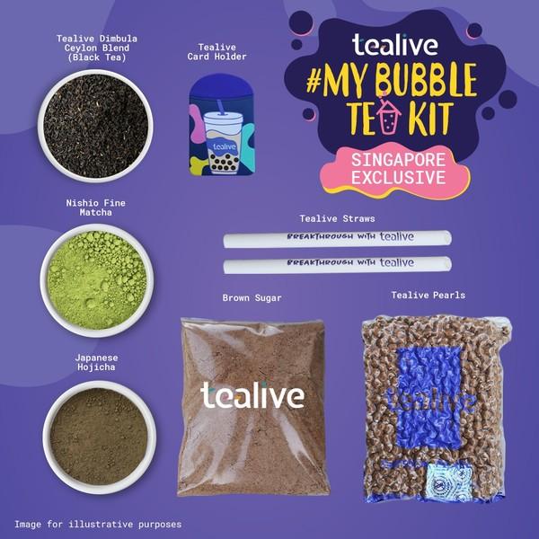 Tealive 泡泡茶组 - 自制泡泡茶组