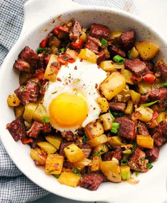 咸牛肉马铃薯泥 - 罐头食品做法