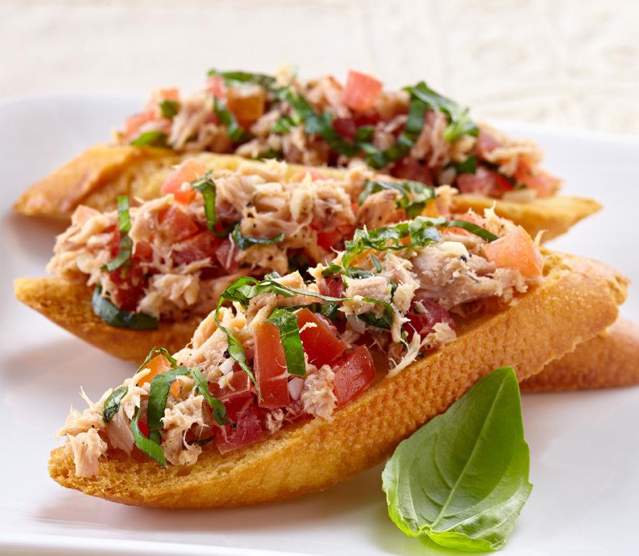 意大利式金枪鱼吐司 - 罐头食品做法