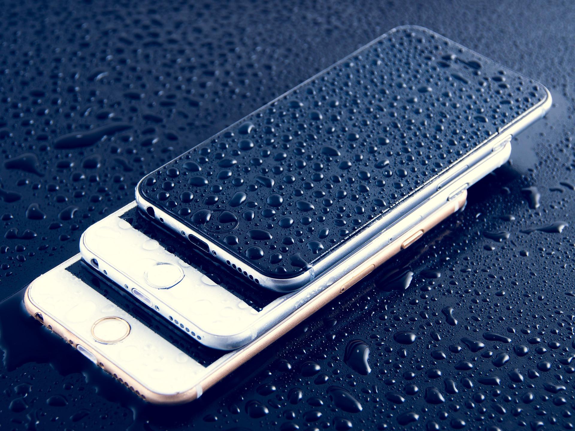 进水手机 - 手机消毒