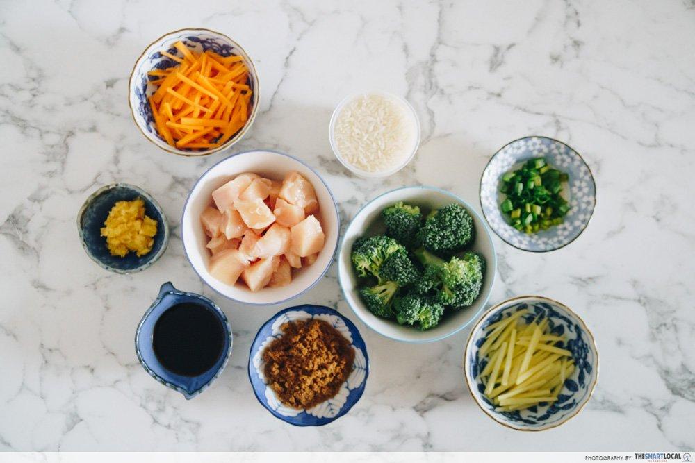 照烧鸡饭食材 - 一锅熟食谱