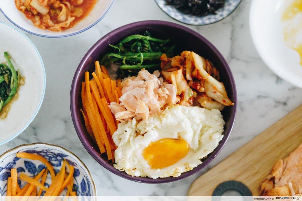 韩式三文鱼拌饭 - 一锅熟食谱