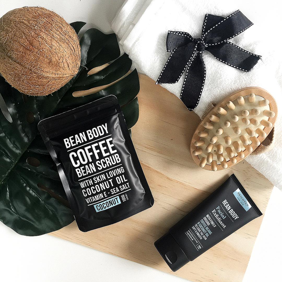 Bean Body 咖啡身体磨砂 - 居家水疗护理品