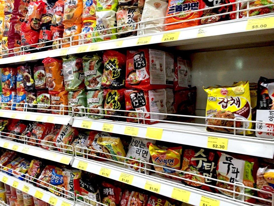 Sol Mart 产品 - 韩国超市