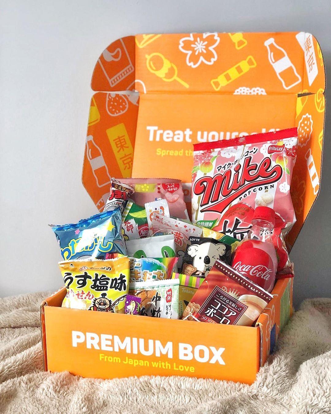 日式零食 - 零食与饮料订阅盒
