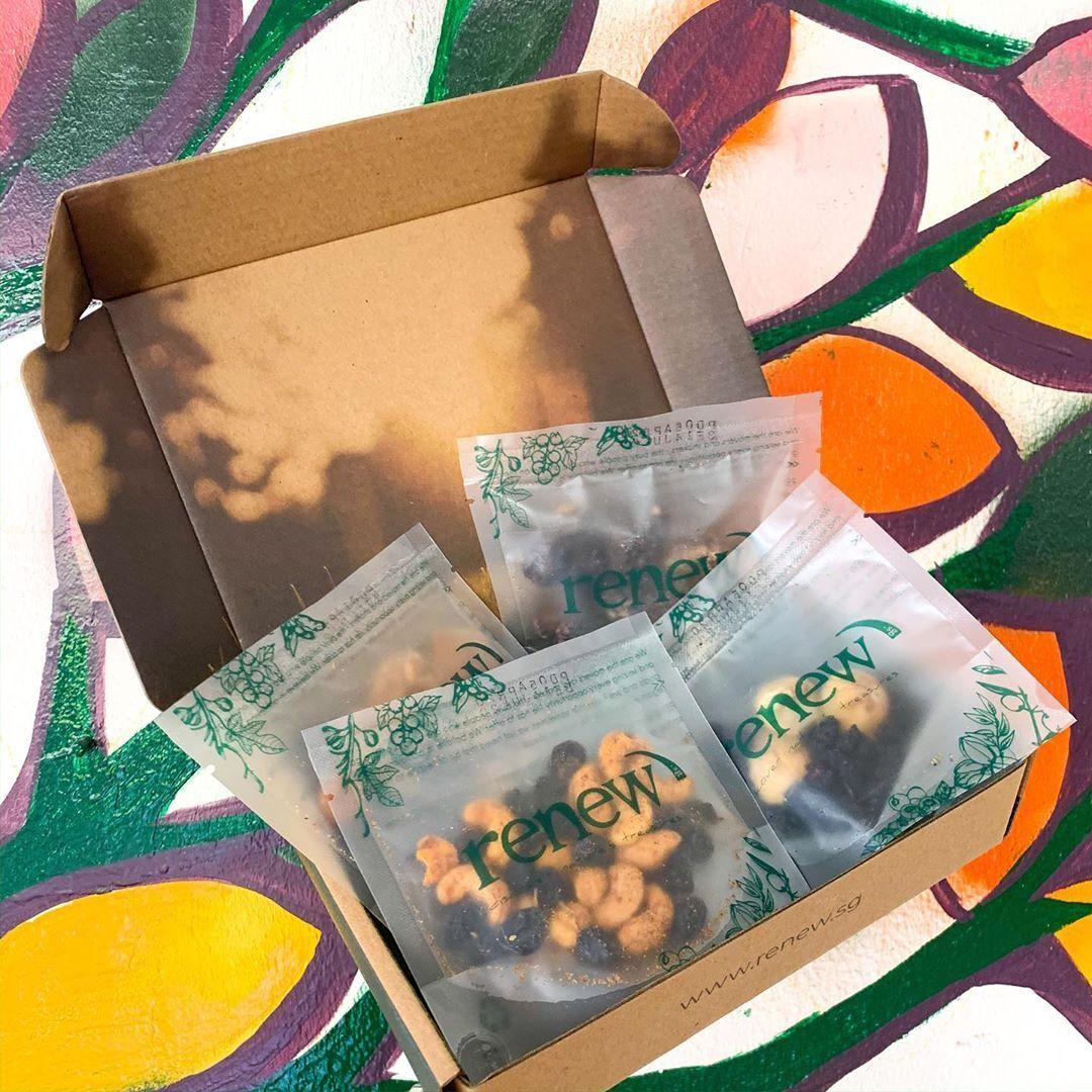 健康零食 - 零食与饮料订阅盒