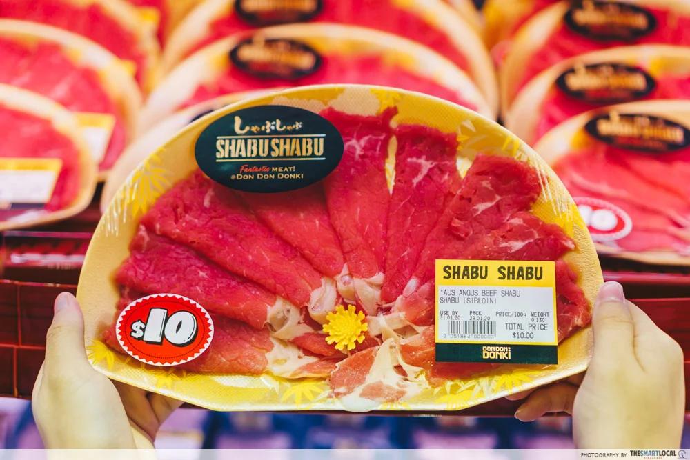 最先买肉类 - 超市购物错误